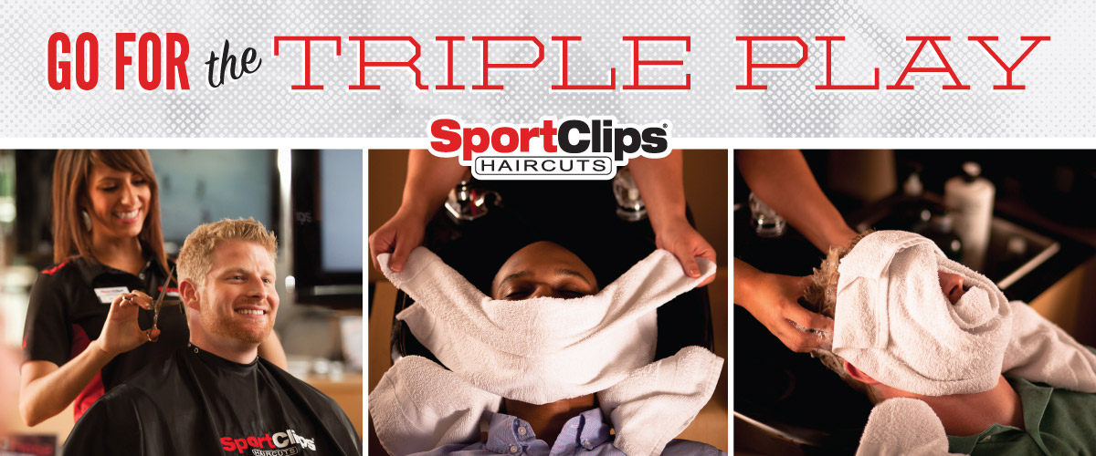 The Sport Clips Haircuts of Roosevelt Park Triple Play